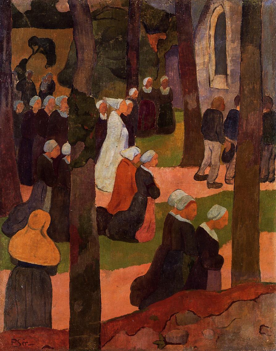 A Breton Sunday, 1890